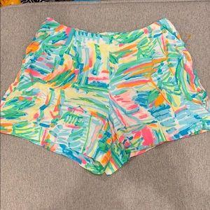 Lilly Pulitzer Linnea shorts, size 2, EUC